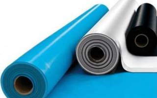 Какую пленку использовать для гидроизоляции бетонного пола?