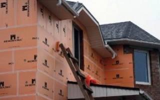 Как утеплить стену пеноплексом снаружи на кирпич?