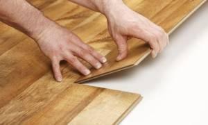 Что стелить под ламинат на деревянный пол?