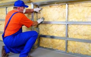Как правильно сделать теплые стены?