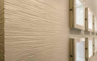 Покрытие короедом стен в помещениях и фасадов
