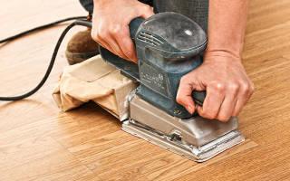 Чем лучше шлифовать деревянный пол?