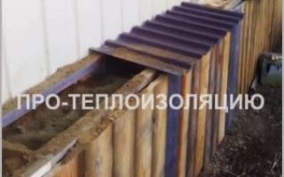Чем утеплить завалинку в деревянном доме?
