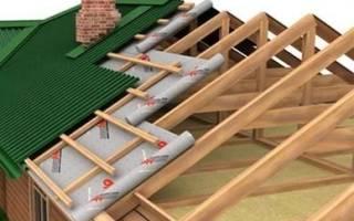 Как постелить гидроизоляцию на крышу?