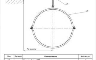 Обвязка строительных колонн полуотводами вентиляции