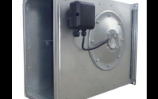 Двигатель для вентиляции канальные