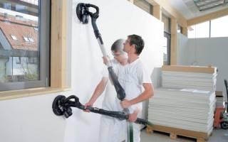 Как быстро ошкурить стены?