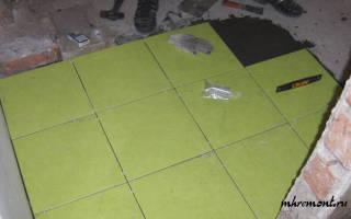 Можно ли класть плитку на неровный пол?