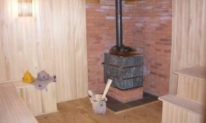 Что положить под печку на деревянный пол?