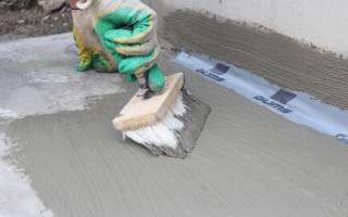 Проникающая гидроизоляция на цементной основе