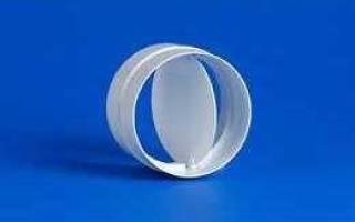 Обратный клапан на вентиляцию прямоугольного сечения