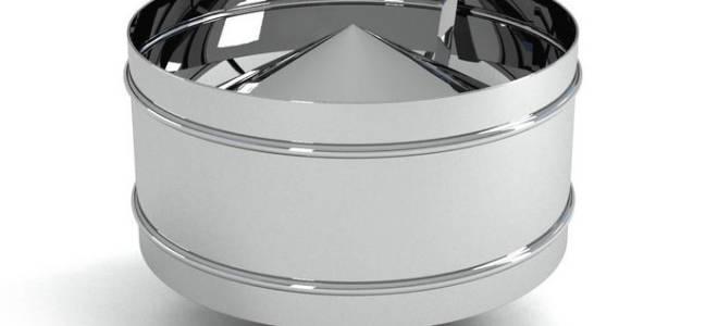 Типы дефлекторов для вентиляции