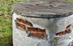 Гидроизоляция скважины от грунтовых вод