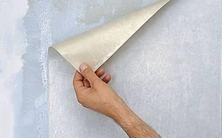 Куда наносить клей при поклейке бумажных обоев?