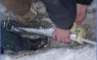 Как правильно утеплить трубы отопления на улице?
