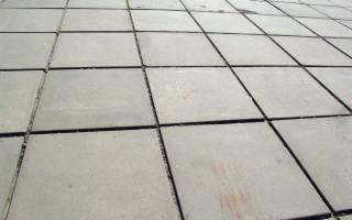 Тротуарное покрытие из резиновой крошки
