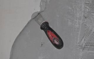 Как убрать штукатурку короед со стены?