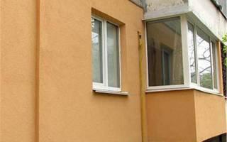 Утеплить наружные стены панельного дома