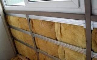 Чем утеплить балкон внутри своими руками?