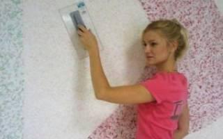Как очистить стены от жидких обоев?