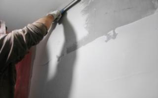 Можно ли финишной шпаклевкой выравнивать стены?