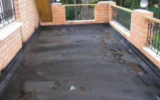 Гидроизоляция террасы под плитку