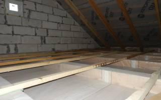 Чем утеплить потолок в частном доме снаружи?