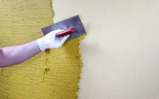 Чем наносить декоративную штукатурку на стены?
