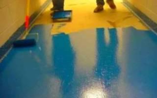 Жидкое резиновое покрытие для бетона