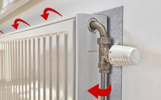 Как изолировать батарею отопления?