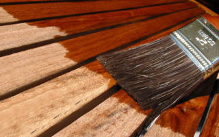 Покрытие для мебели из дерева