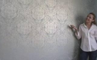 Как клеить бумажные обои на бетонные стены?