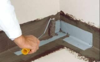Гидроизоляция под наливной пол в квартире