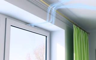 Вентиляция в окне как сделать своими руками?
