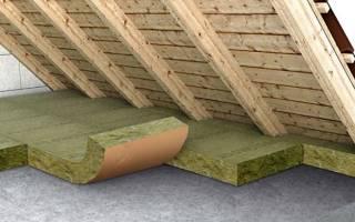 Можно утеплить потолок со стороны чердака
