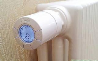 Как проверить термоголовку отопления?