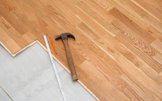 Можно ли класть ламинат на деревянный пол?