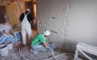 Как самостоятельно штукатурить стены?