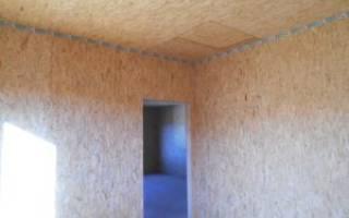 Как правильно крепить ОСБ на каркасные стены?