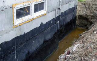 Правильная гидроизоляция цокольного этажа