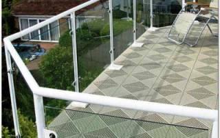 Напольное покрытие для балкона и лоджии