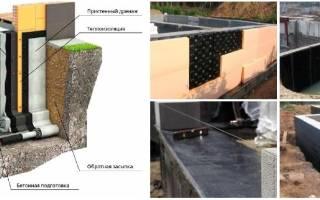 Гидроизоляция под газобетонные блоки