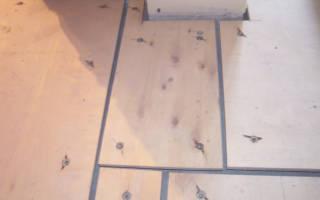 Как постелить плитку на деревянный пол?