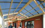 Прозрачное покрытие для крыши