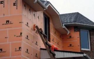 Как утеплить стены из кирпича снаружи пенопластом?