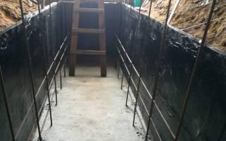 Гидроизоляция ямы изнутри от грунтовых вод