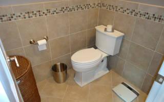 Как укладывать плитку в туалете на стены?