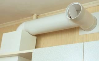 Вентиляция на кухне с вытяжкой своими руками