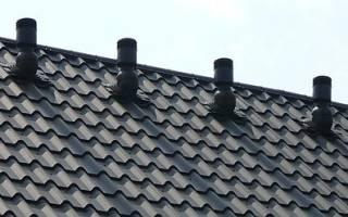 Вентиляция чердачного помещения частного дома