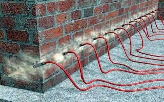 Инъекционная гидроизоляция фундаментов и стен